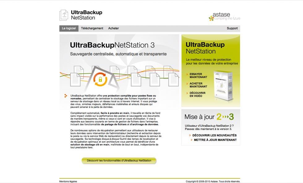 ultrabackup netstation